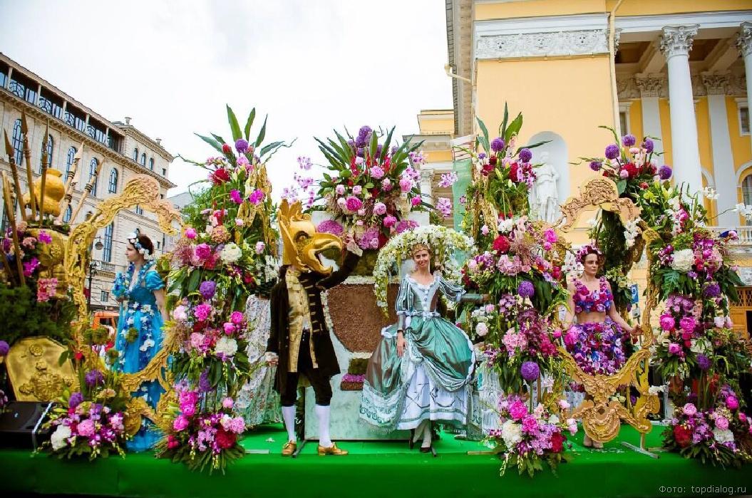 Фестиваль  цветов питер фото