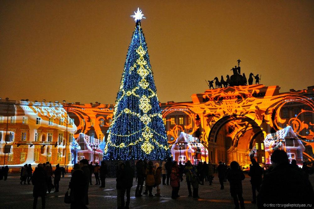 Новый год 2021 в Петербурге фото