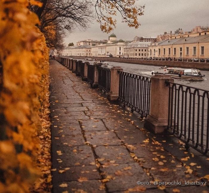 осень в Санкт-Петербурге где  разместиться